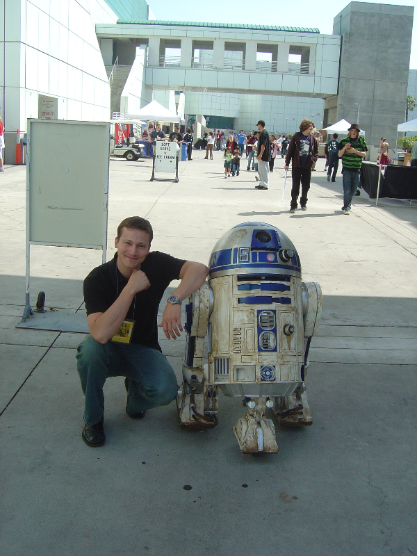 Me and R2D2
